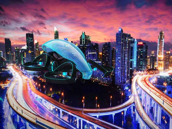 Toyota Flying Car To Light 2020 Olympic Torch
