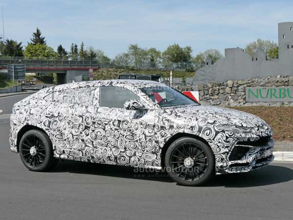 Spy Pics: Lamborghini Urus Spotted Testing Its Limits In The Green Hell