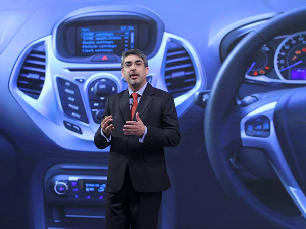 Anurag Mehrotra Becomes Ford India's Managing Director