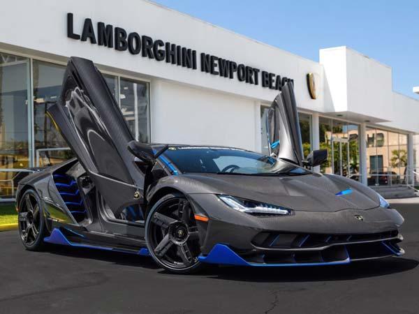 First Lamborghini Centenario In The United States Arrives