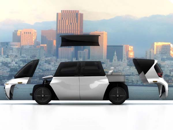 This Is The World's Maiden Modular Autonomous Vehicle