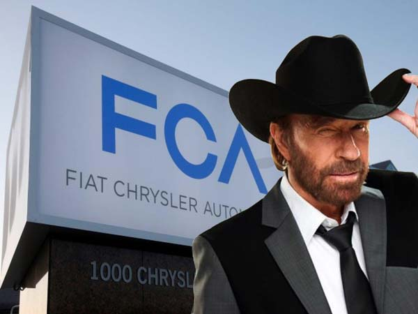 fca signs chuck norris as brand ambassador drivespark news. Black Bedroom Furniture Sets. Home Design Ideas
