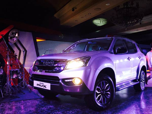 Isuzu Mu X Launched In India Price Mileage Specification