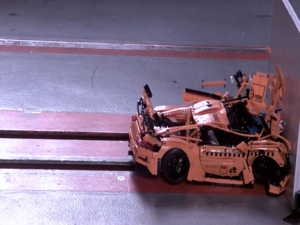Lego Porsche 911 GT3 RS Is As Bad At Crash Test As Indian Cars