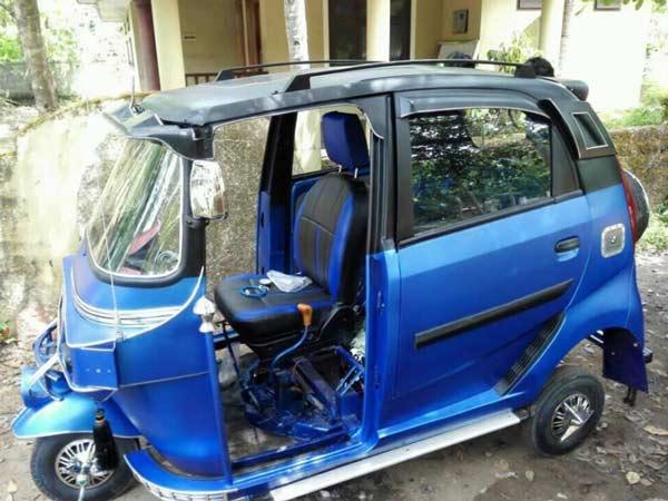 Modified Bajaj Auto Rickshaw