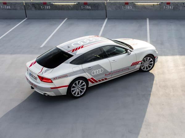 Audi Self Driving Car Albany