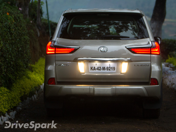 Lexus LX 450d Review - First Drive Report