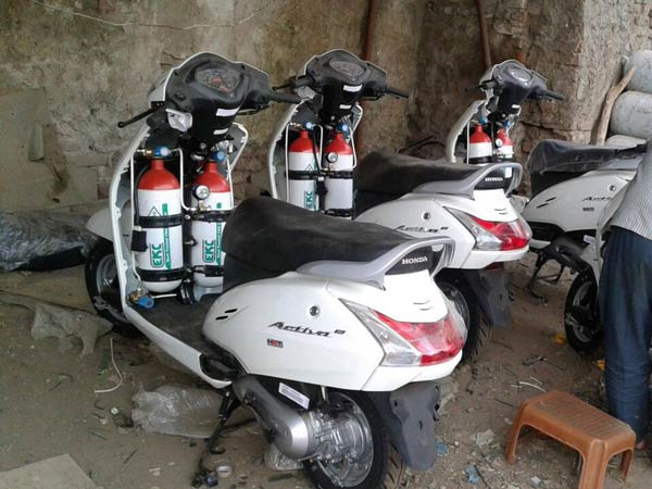 CNG Kits For Two-Wheelers Launched In Mumbai - DriveSpark News