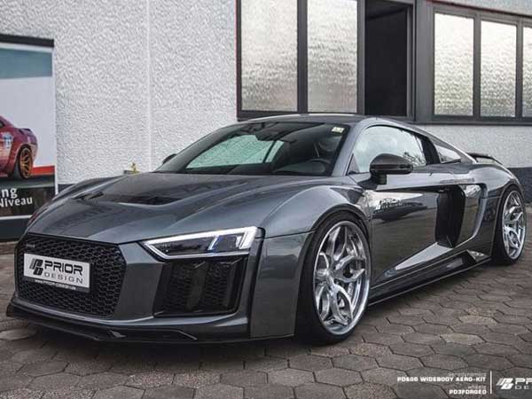 The Audi R8 Gets Reworked By Prior Design — The Result Is Top Notch