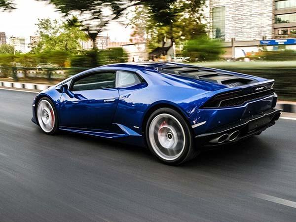Lamborghini Huracan In Exclusive Blue Caelum Colour Delivered To