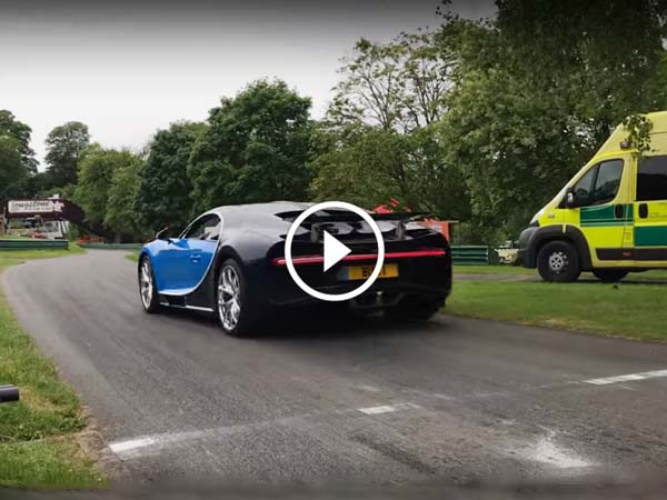 Bugatti Chiron Turbo Spool On A Hill Climb Is Pure Music To Your