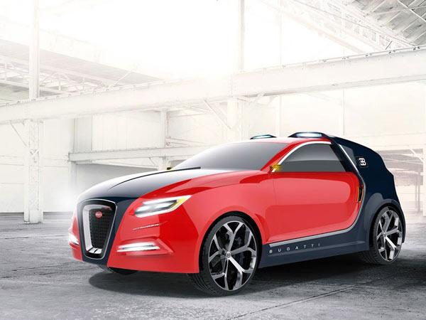 Bugatti Intruder Renderings
