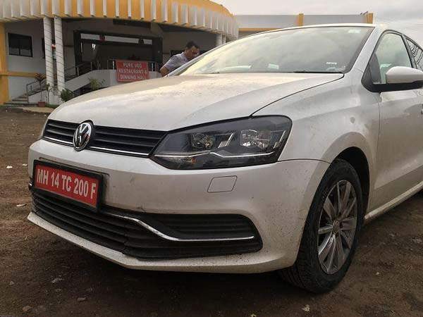 Spy Pics: Volkswagen Polo TSI Bluemotion Spotted Testing In India