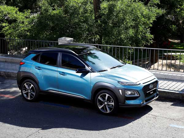 hyundai to introduce kona electric suv by 2018 drivespark news. Black Bedroom Furniture Sets. Home Design Ideas
