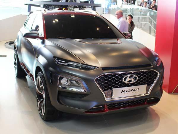 Hyundai Unveils Iron Man Edition Of The Hyundai Kona