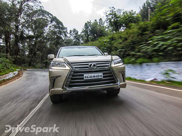 Lexus Lx 450d Test Drive Report
