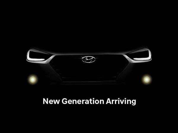 New Hyundai Verna Teased Ahead Of India Launch Drivespark News