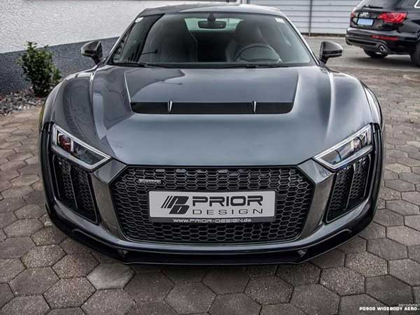 Prior designs custom audi r8 is all about looks drivespark news publicscrutiny Choice Image