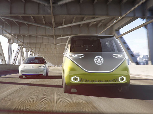 Volkswagen Announces Plans To Introduce Five New All-Electric Cars