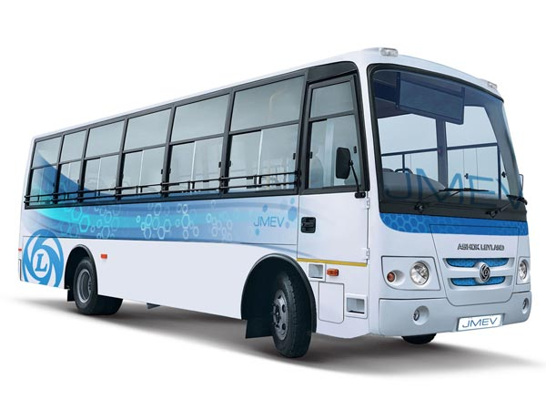 Ashok Leyland Electric Bus In Alliance With Sun Mobility