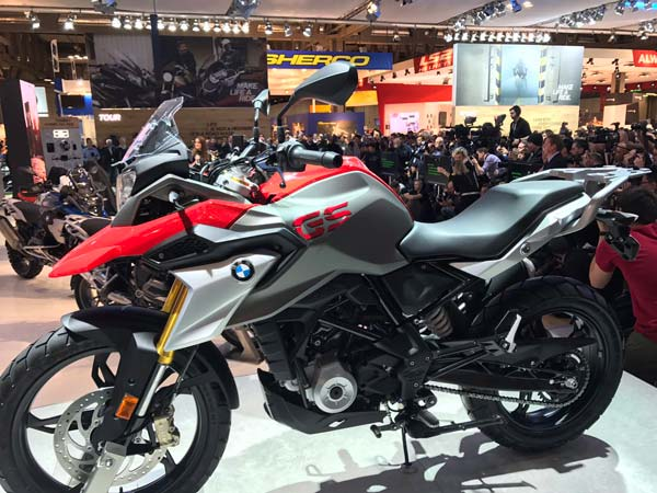 Bmw g 310 gs patented in india drivespark news for Salon moto milan 2017