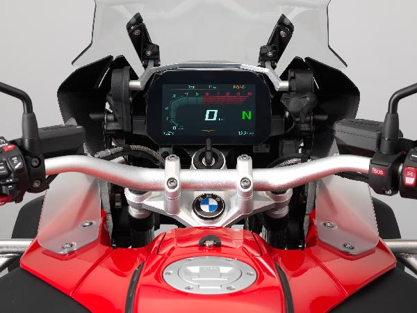 Bmw Motorrad Introduces Optional Instrument Cluster With