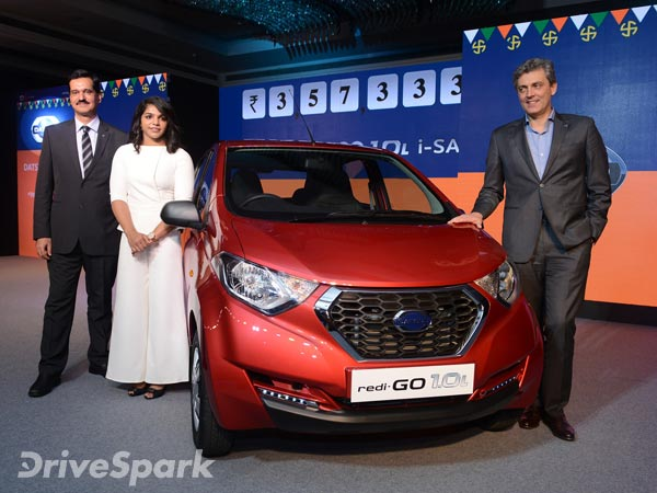 Datsun Redi Go 1 Litre Launched In India Price Specifications