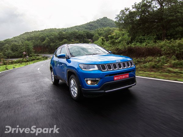 jeep compass price in india jeep compass suv price list drivespark news. Black Bedroom Furniture Sets. Home Design Ideas