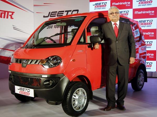 Mahindra Jeeto Minivan India Launch