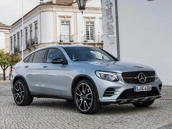 mercedes amg glc 43 4matic coupe india launch on july 21. Black Bedroom Furniture Sets. Home Design Ideas