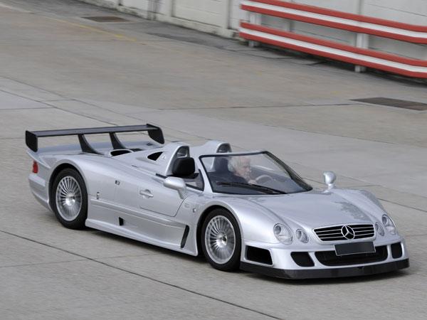 Video Ultra Rare Mercedes Benz Clk Gtr Roadster Goes