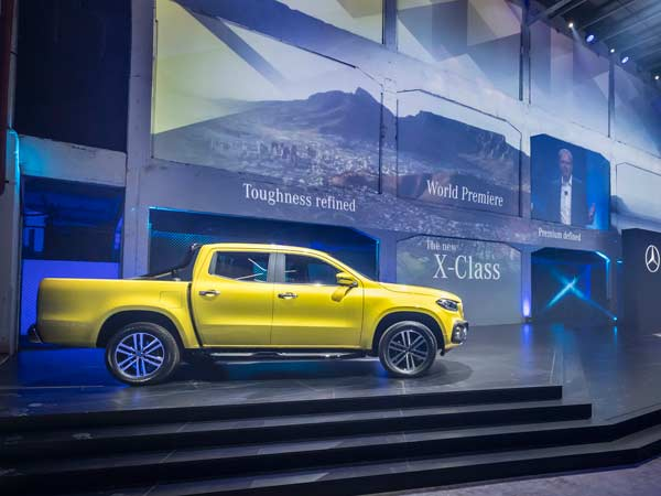 Mercedes-Benz X-Class Pickup Truck Revealed