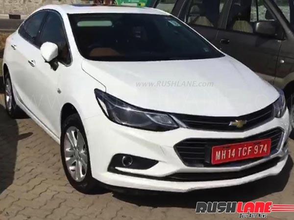 New Chevrolet Cruze Spied Testing India