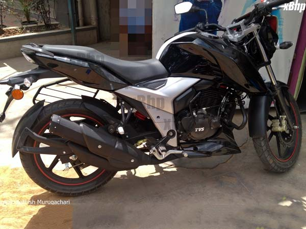 Next Gen Tvs Apache Rtr 160 Spotted Again Drivespark News