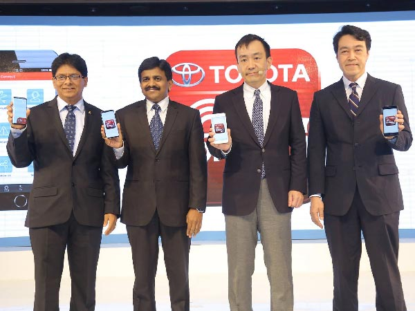 Toyota Connect Smartphone App Launched In India