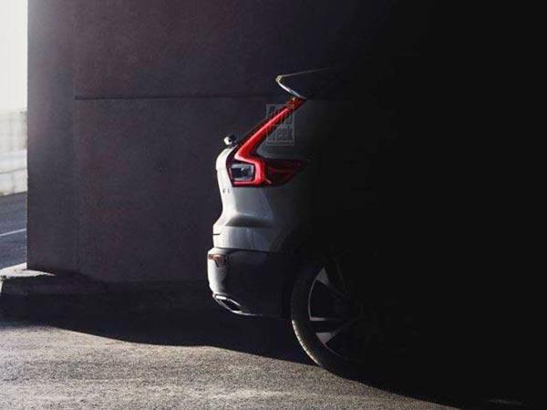 Volvo Xc40 Teaser Image Leaked