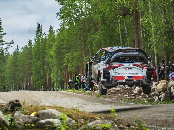 WRC Rally Finland: Esapekka Lappi Leads After Day 1