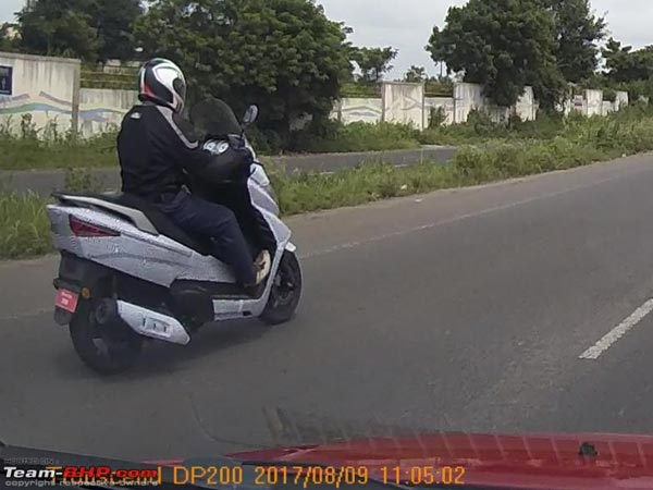 Benelli Zafferano 250 Scooter Spotted Testing In India