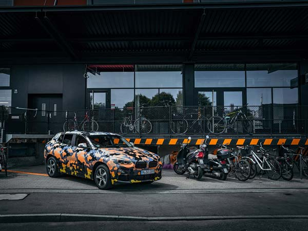 New BMW X2 Official Images Revealed With Unique Camouflage Wrap