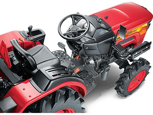 Mahindra Launches Jivo Small Tractor Platform - DriveSpark News