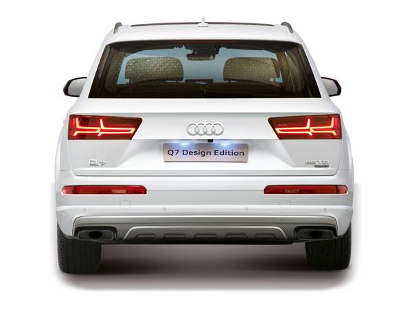 Audi Q Design Edition Launched In India Launch Price And - Audi car q7 price in india
