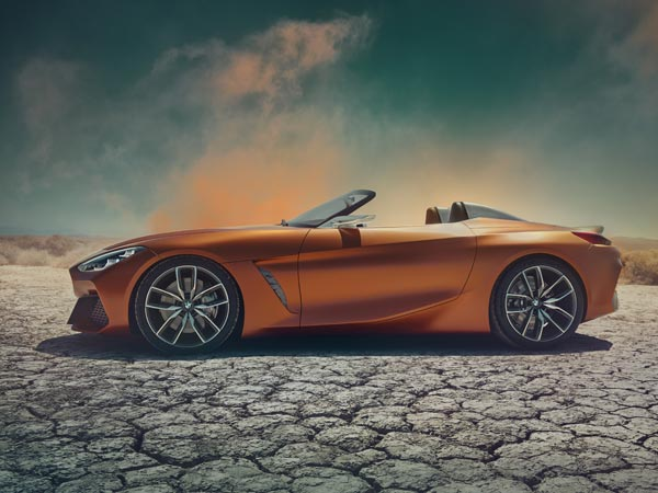 New BMW Z4 Concept Images Revealed — It's All About First Impressions