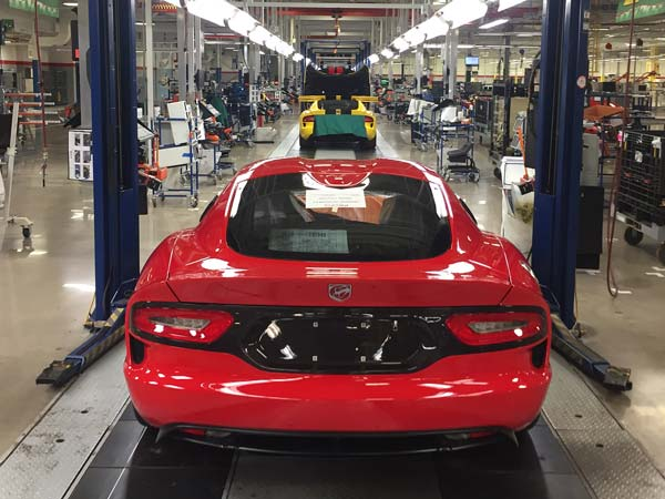 Dodge Rolls Off Final Example Of The Viper