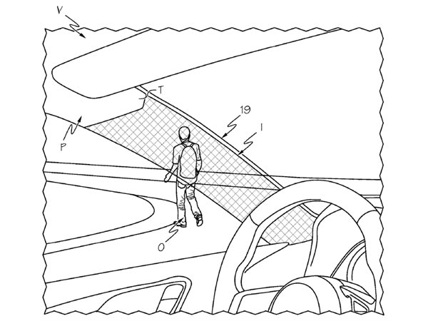 Toyota Patents Transparent A Pillars