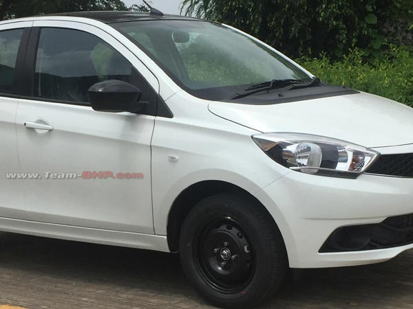 Spy Pics: Tata Tiago Wizz Limited Edition Spotted