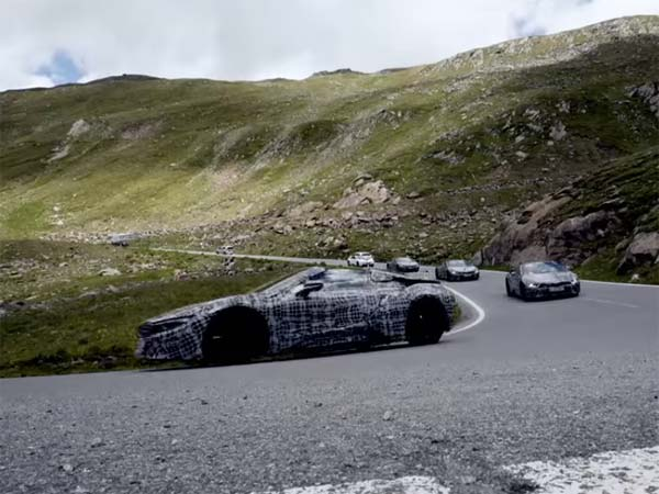 BMW i8 Roadster Teased In A New Video