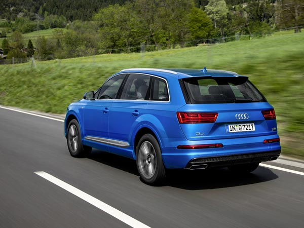 Audi Q7 40 TFSI India Launch On September 1, 2017