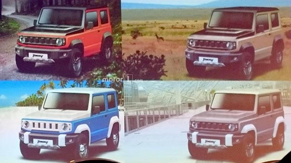 Suzuki Jimny Images Leaked Ahead Of Official Reveal