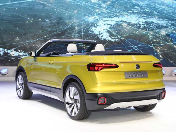 Volkswagen To Unveil T-Cross SUV In 2018
