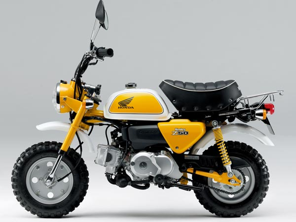 honda monkey bike production stops drivespark news. Black Bedroom Furniture Sets. Home Design Ideas